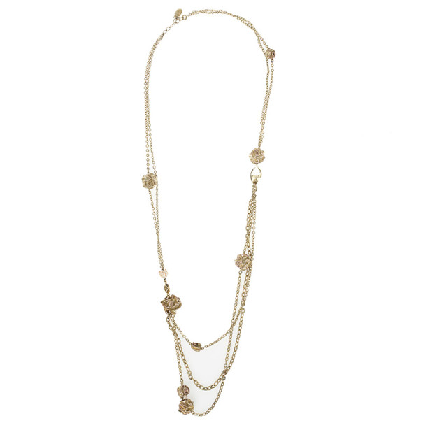 Christian Dior Diorose Long Necklace