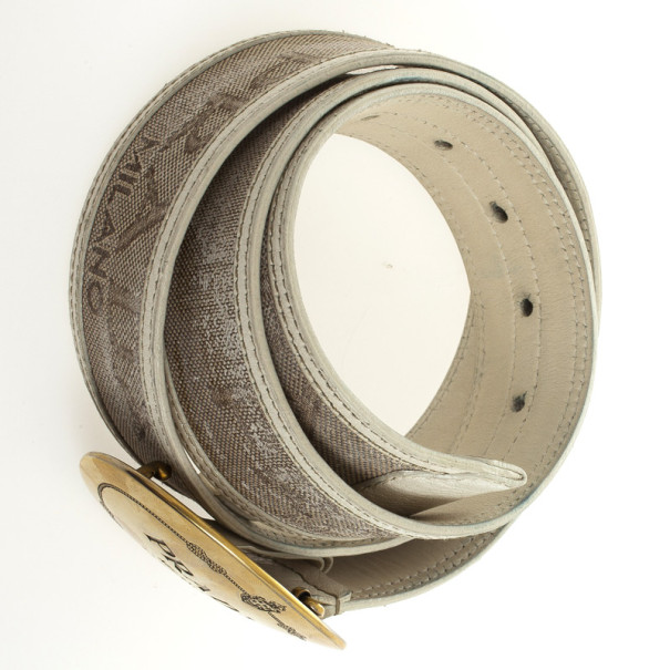 Prada Cinture Buckle Belt