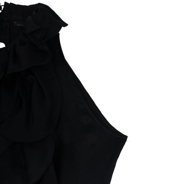 Carolina Herrera Petal Neck Evening Dress M