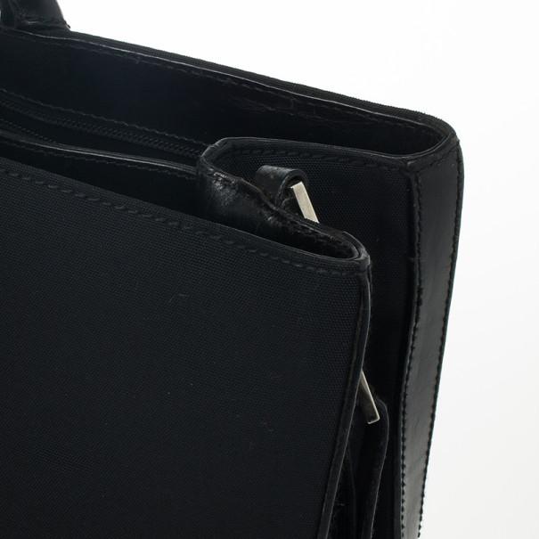 Gucci Black Nylon Briefcase