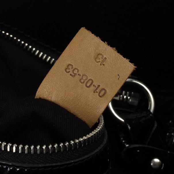 Chloe Ada Patent Leather Tote