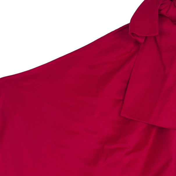 Valentino One Shoulder Gown M