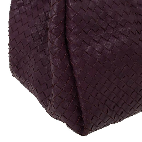 Bottega Veneta Corot Intrecciato Nappa Parachute Bag
