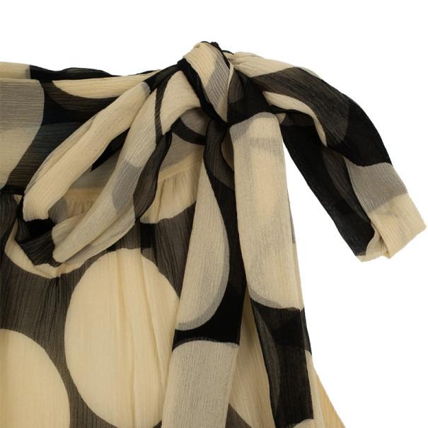 Diane Von Furstenberg Charade Polka Dot Dress S
