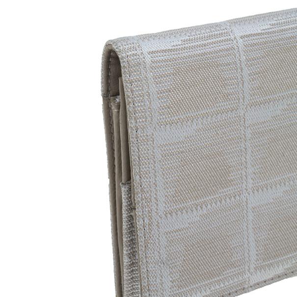 Chanel Beige Travel Line Continental Wallet