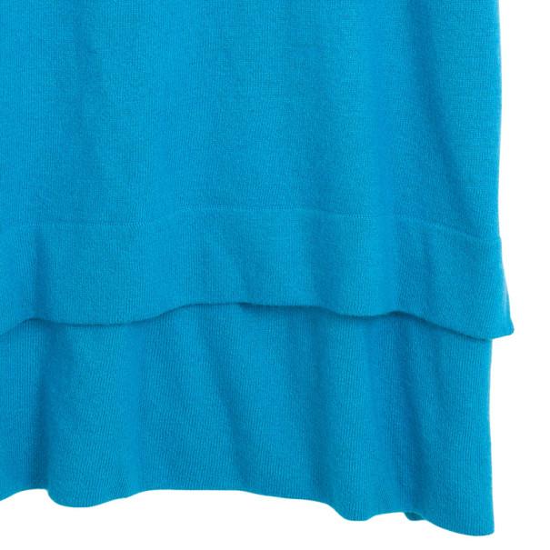 Diane von Furstenberg Blue Brianna Sweater M