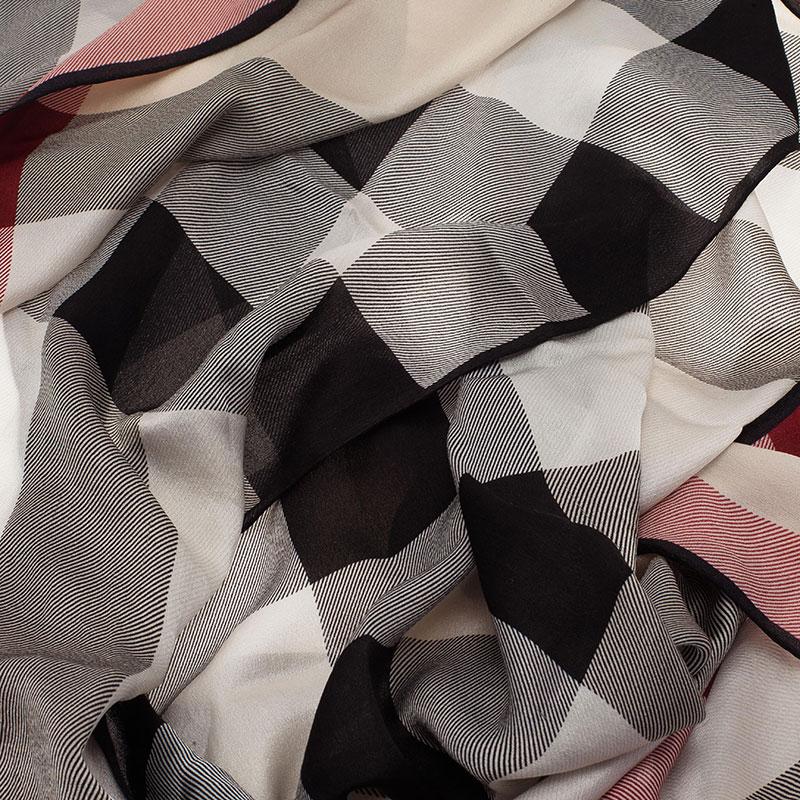Burberry Nova Check Silk Stole