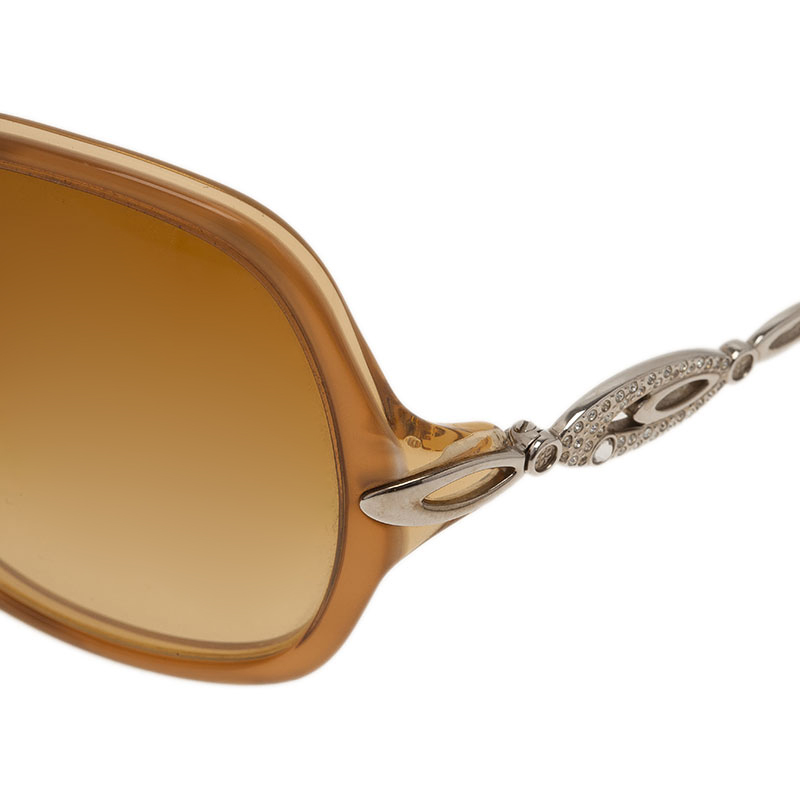 Bvlgari Brown 8036 Square Sunglasses