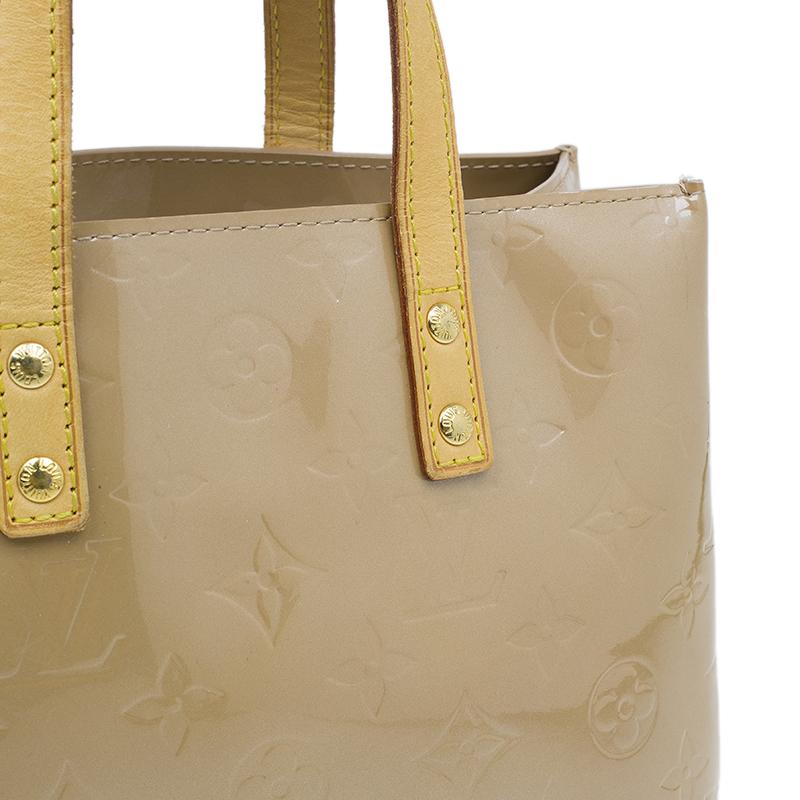 Louis Vuitton Brown Monogram Vernis Reade PM
