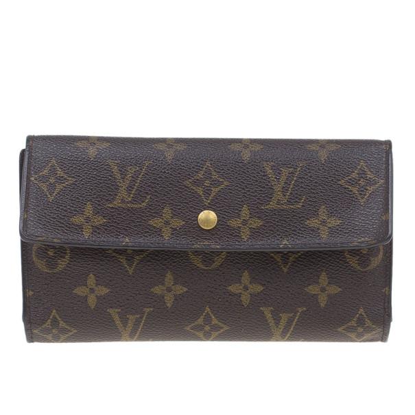 Louis Vuitton Monogram Canvas Continental Wallet