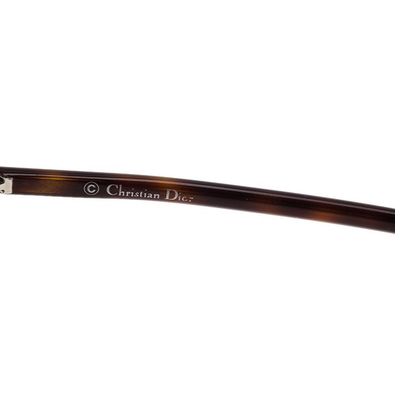 Dior Tortoise Frame So Real Round Sunglasses