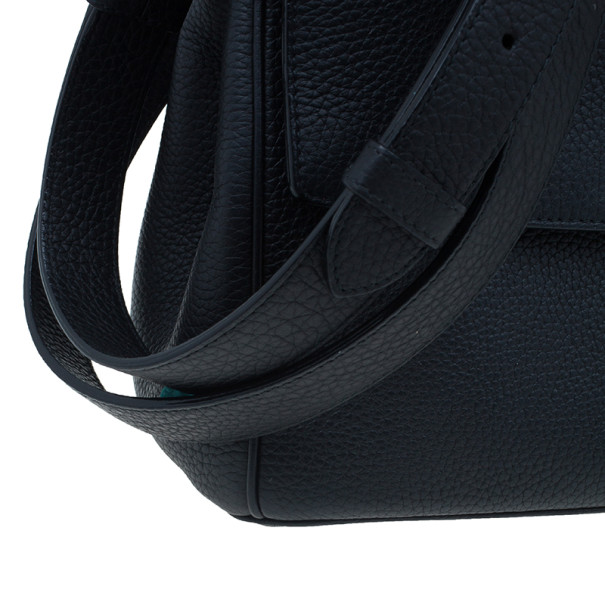 Dior Black Leather Small Be Dior Flap Bag