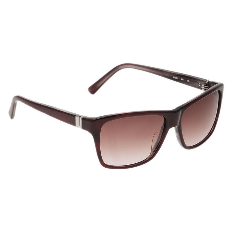 Valentino Red V629S Square Sunglasses