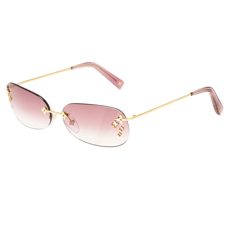 Louis Vuitton Purple Desmayo Sunglasses
