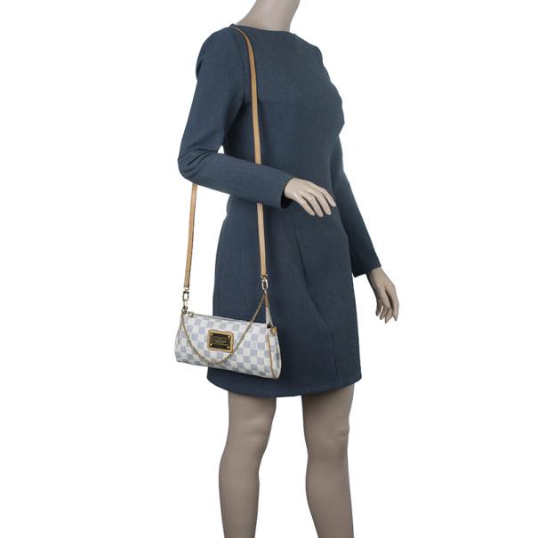 Louis Vuitton Damier Azur Canvas Eva Pochette