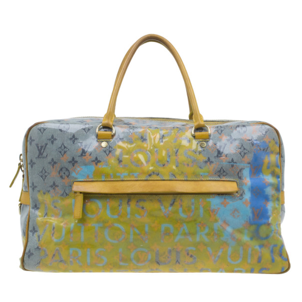 Louis Vuitton Multicolored Monogram Limited Edition Pulp Weekender GM