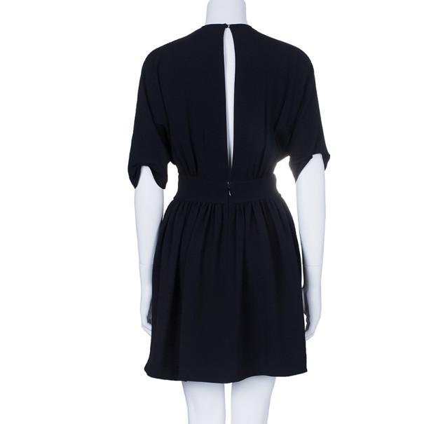 Miu Miu Black Key-hole Back Detail Dress M
