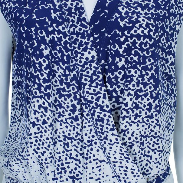 Diane Von Furstenberg Kawena Printed Jumpsuit L