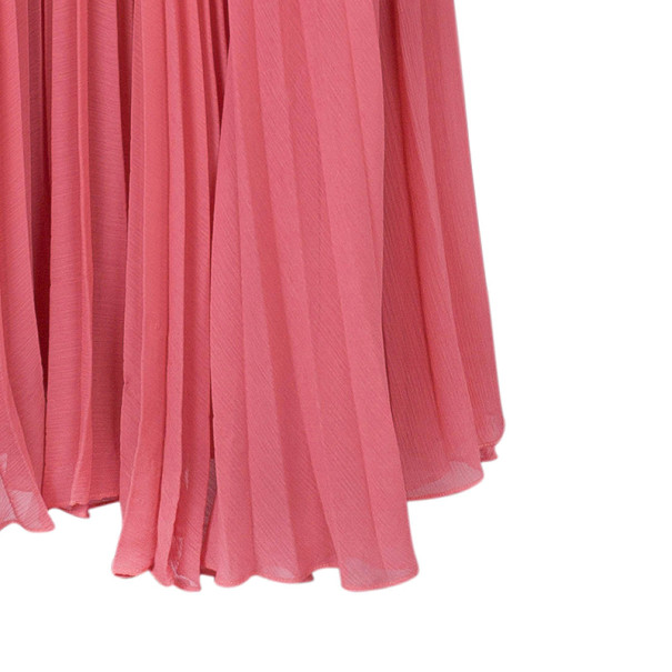 Alice + Olivia Leila Belted Colorblock Crepe Maxi Dress S