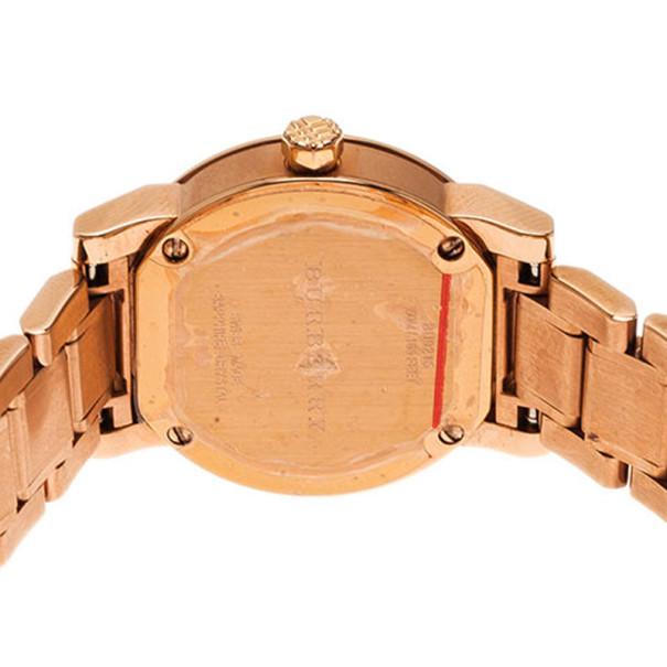 Burberry Silver Stainless Steel The City BU9126 Women's Wristwatch 25MM