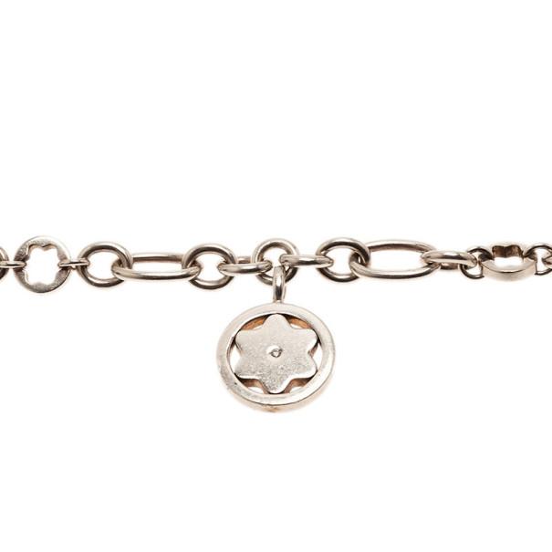 Montblanc Star Signet Silver Bracelet 21CM