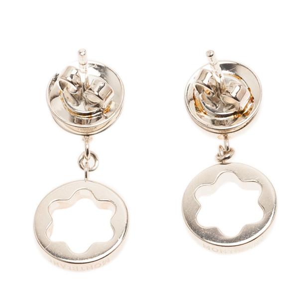 Montblanc Star Signet Silver Earrings