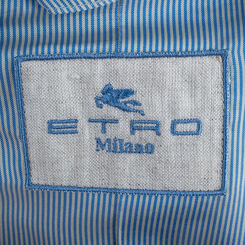 Etro Printed Oversized Blazer L