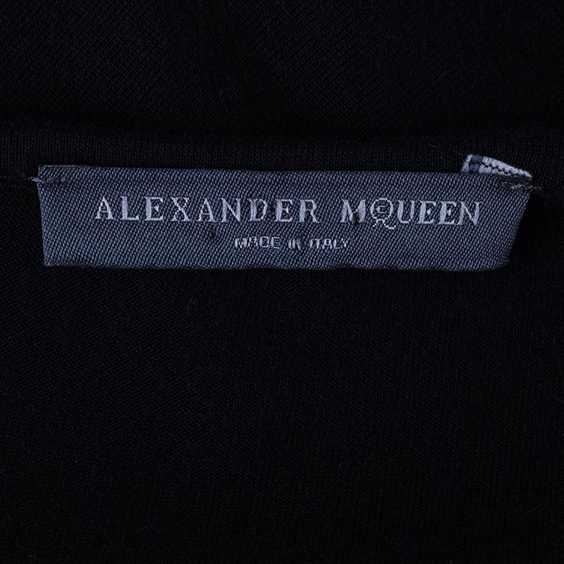 Alexander McQueen Black Scarf Top M