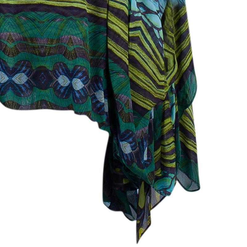 Diane Von Furstenberg Vanner Tribal Print Dress M