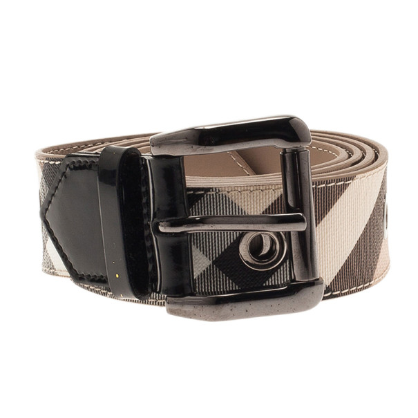 Burberry Novacheck Canvas Belt 110CM