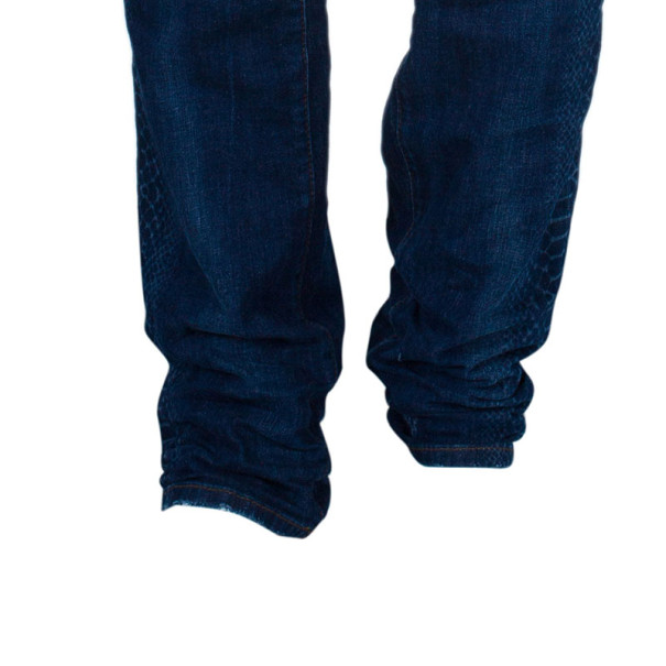 Just Cavalli Blue Relaxed Fit Men's Jeans XXL