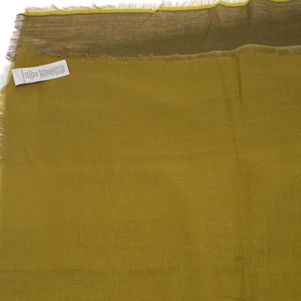 Burberry Yellow Novacheck Square Scarf