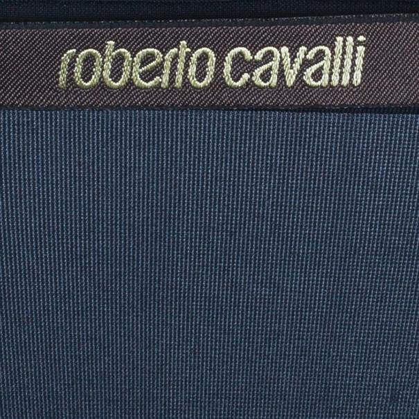 Roberto Cavalli Floral Printed Silk Maxi Skirt S