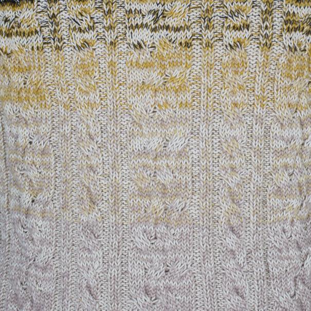 Missoni Men's Cable Knit Degrade Sweater M