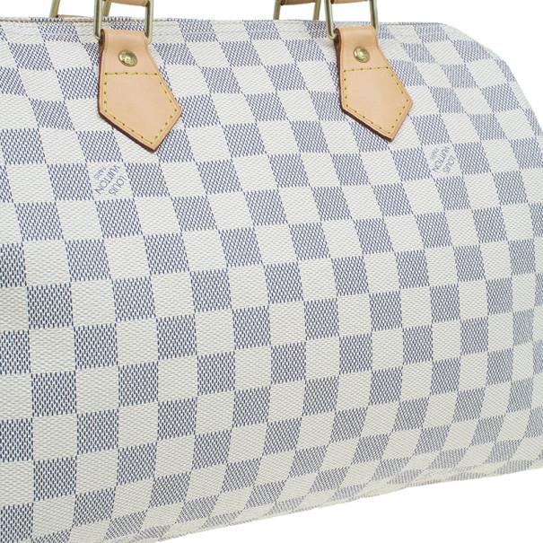 Louis Vuitton Damier Azur Canvas Speedy 30