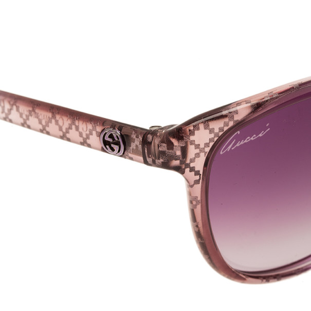 Gucci Purple GG 3363 Cat Eye Sunglasses
