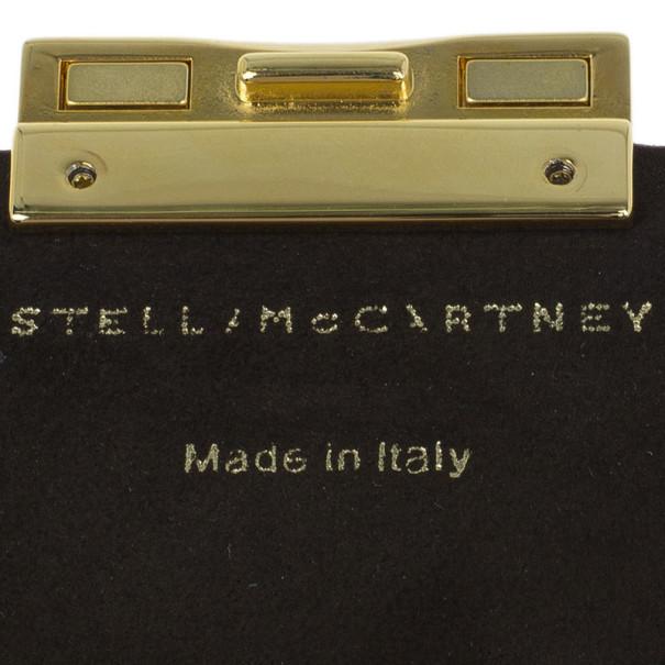 Stella McCartney Pink Leather Beckett Clutch