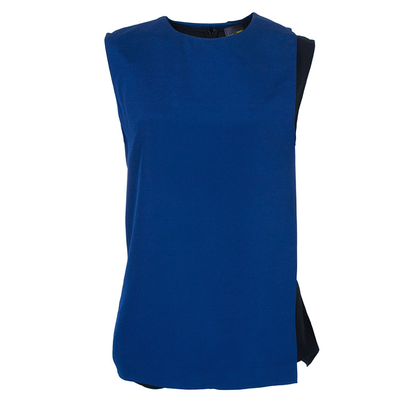 Fendi Sleeveless Colorblock Top M