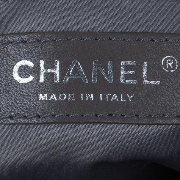 Chanel Beige Caviar Grand Shopper Tote GST