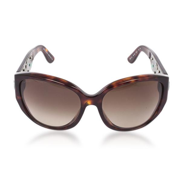 Bvlgari Tortoise Frame 8038B Limited Edition Woman Sunglasses