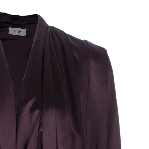 Chalayan Amaranth Robe Top S