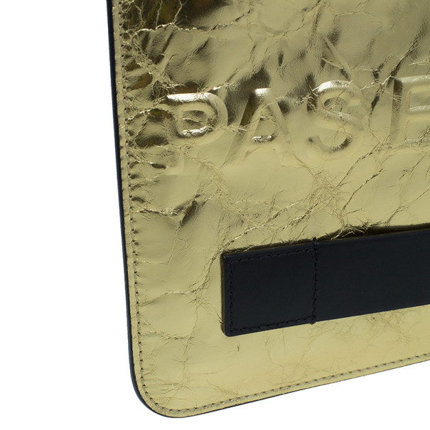 Chanel Gold Medium Feminine Pouch