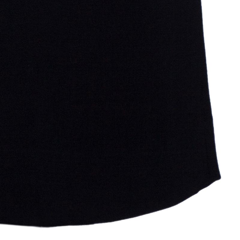 Dolce and Gabbana Black Pencil Skirt L