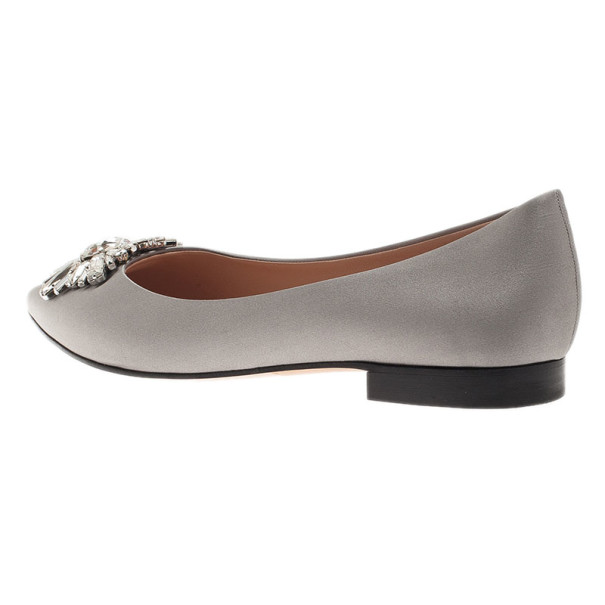 Gina Grey Satin Felicity Ballet Flats Size 39