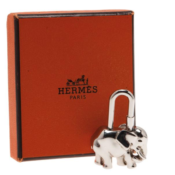 Hermes 1988 Exotisme Elephant Cadena Charm