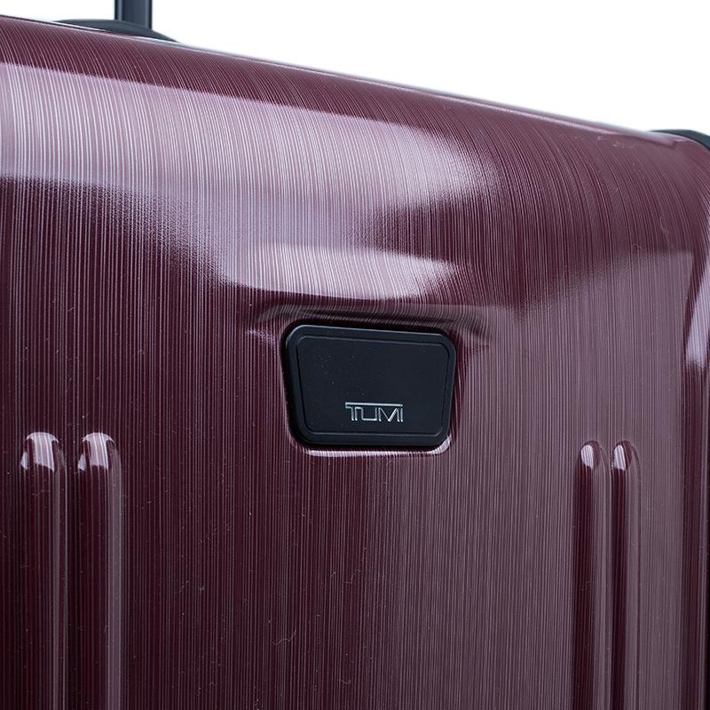 Tumi Purple Hard Shell 71 cm Vapor Rollen Trolley