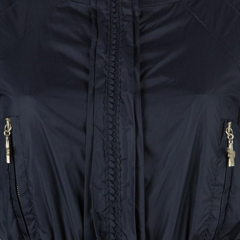 Moncler Gamme Rouge Black Down Jacket S