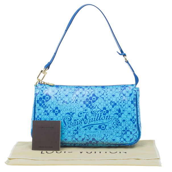 Louis Vuitton Blue Blossom Cosmic Pochette
