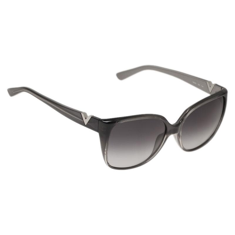 Valentino Pearl V624S Oversized Cat Eye Sunglasses