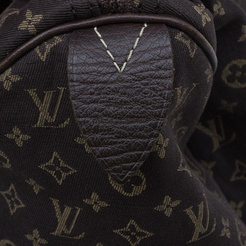 Louis Vuitton Monogram Canvas Mini Lin Speedy 30